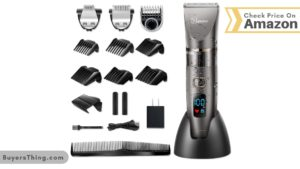 Hatteker Men's Hair Cutting Kit Cordless Clipper