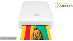 colorful image printed by mobile portable printer
