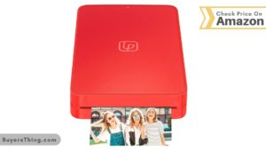 Life Print Red color printer with printing image