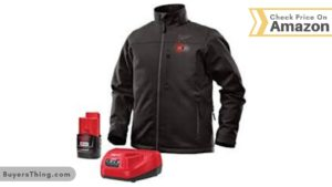 Milwaukee Best Heated Jackets KIT M12 12V Lithium-Ion Heated Front and Back Heat Zones All Sizes and Colors - Battery and Charger Included (Extra Large, Black)