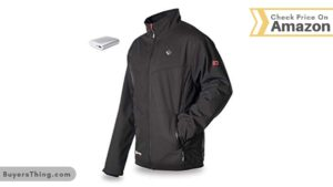 Best Heated Jackets by Venture Black Jacket